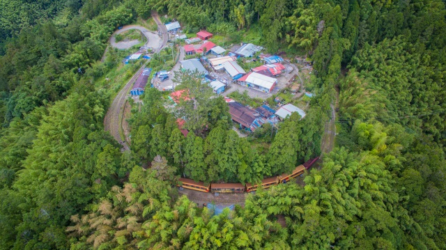 Bird-view of Duolin Station (provided by Lai Guo-Hua)