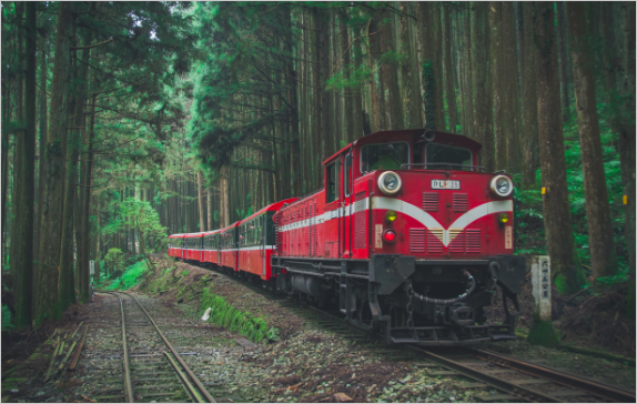 The switchback of the Alishan Forest Railway is the most popular in Taiwan